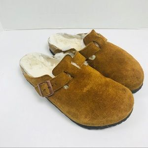 BIRKENSTOCKS 41 265 ladies 10 shearling clogs
